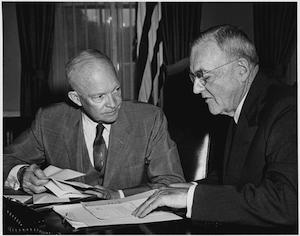 truman and eisenhower doctrine in middle The truman doctrine, which president harry s truman issued in march 1947, was the basis of american foreign policy toward the soviet union until 1991.