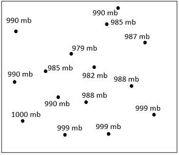 Constructing Isobars Using Surface Station Models | Study.com