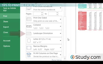 Convert Decimals To Fractions Worksheet Excel Printing In Excel How To Configure Workbooks To Print  Video  Surrealism Worksheet Word with Singular And Plural Pronoun Worksheets Excel Print Options In Excel Math Worksheets For Grade 6 Algebra Excel