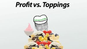 profit vs toppings