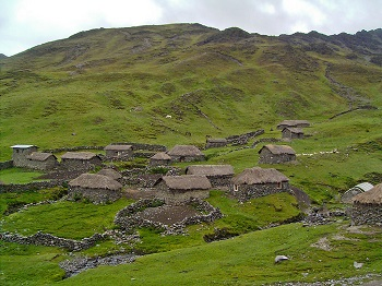 Houses of Quechua People