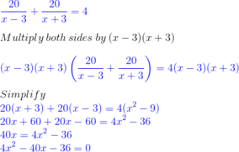 Using Quadratic Formulas in Real Life Situations - Video ... Quadratic Function In Real Life Situation