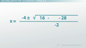Quadratic Example 1