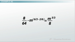 Quotient of Powers Example 6 Solution