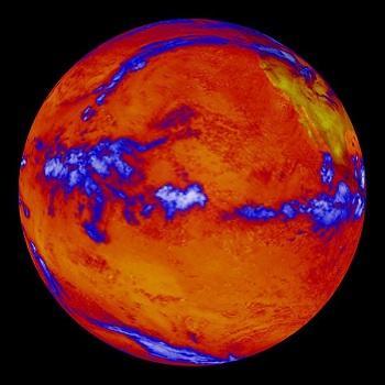 The Earth, Like All Objects That Contain Heat, Produces Infrared Radiant Energy