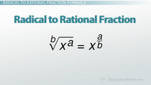 Radical to Rational Fraction