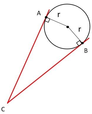 Circumscribed Angle Definition Theorem Study