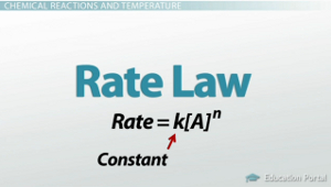 Rate Law Formula