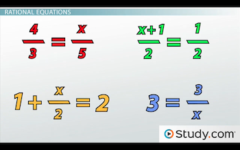 examples of rational equations