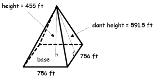 What is a rectangular pyramid definition formula video the volume of a pyramid right or oblique has the following formula ccuart Choice Image