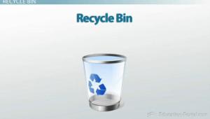 Recycle Bin Computer