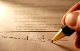 Signature Required for Power of Attorney