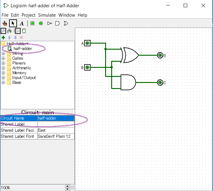 using logisim to build half \u0026 full adders study com