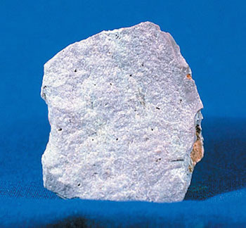 Light colored rhyolite