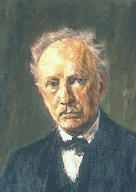 Painting of Strauss 1918