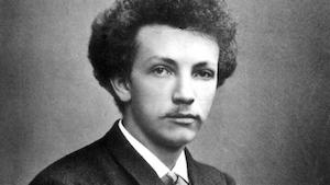 Photo of young Richard Strauss