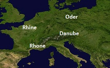 Rivers Of Western Europe Lesson For Kids History Geography