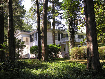 This is a picture of Rowan Oak, William Faulkner