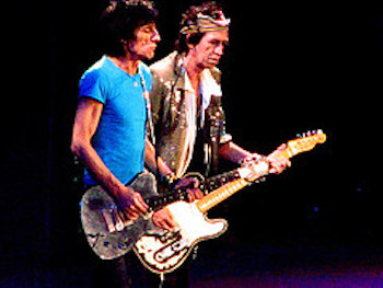 Rolling Stones Jagger & Richards