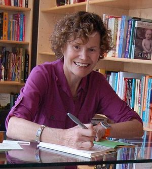 Photograph of Judy Blume
