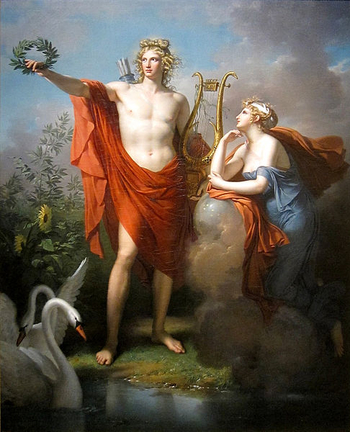 a contrast between apollo and dionysus two gods from greek mythology The two great gods of earth demeter and dionysus the broad topic of mythology was somewhat forgotten, but is now being rediscovered mythology involves tales of gods and goddesses to explain things that are now used science for.