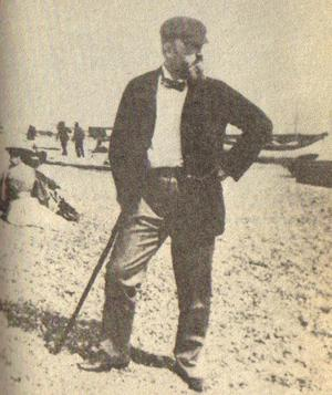 Photograph of Henry James