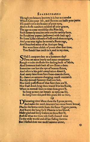 Picture of Sonnet 18