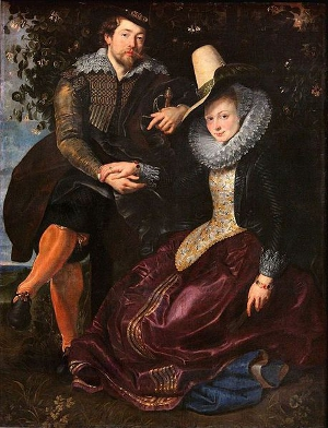 Rubens, Self-Portrait with Isabella Brant (c. 1609-1610)