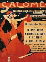 Poster for the opera Salome