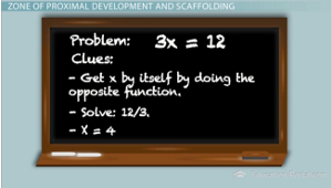 zone of proximal development and scaffolding in the classroom