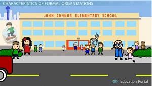 formal organization definition sociology