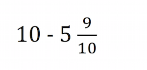 math worksheet : quiz  worksheet  subtracting fractions from whole numbers  : Subtracting Fractions From Whole Numbers Worksheet