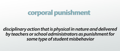 Punishment in school essay
