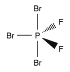 A Which Direction Would You Expect The Dipole Moment For Ch2f2 To Be Oriented B Which Direction Would You Expect The Dipole Moment For Pbr3f2 To Be Oriented Study Com