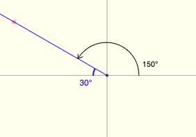Draw each of the following angles in standard position and ...