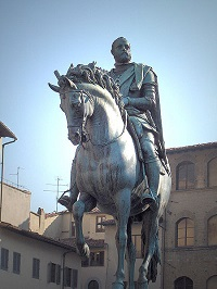 Sculpture of Cosimo Medici