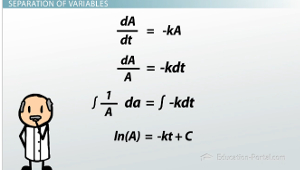Separation of Variables Log