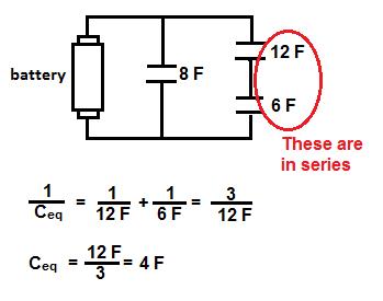 series parallel capacitors study