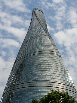 tower architecture examples shanghai definition sustainable study china