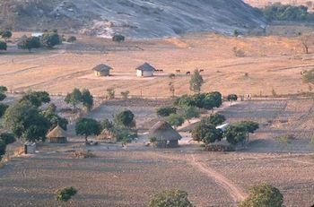 Photo of a Shona farm
