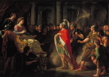 Painting of Dido and Aeneas