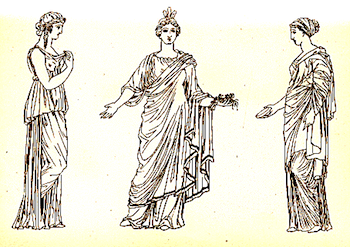 Ancient Greek Clothes, Fashion, & Jewelry Lesson for Kids