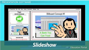 Slide Show Created by Software