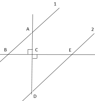 Slope Criteria for Parallel & Perpendicular Lines: Proof ...