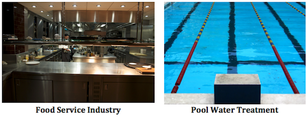 Food Industry and Pool Cleaning