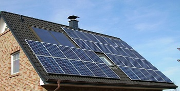 Solar panels are one example of renewable energy