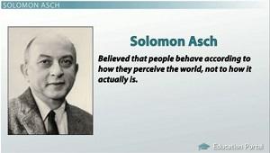 Solomon Asch And Stanley Milgram