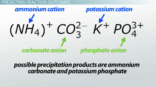 Solubility Of Common Salts Predicting Reaction Outcomes Video