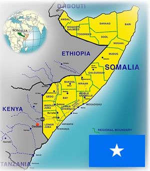 Somalia facts lesson for kids study a map of somalia sciox Images
