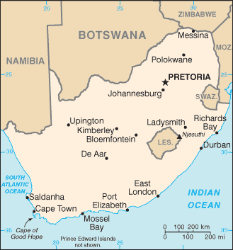 Journey to joburg summary study this is a map of south africa you can see johannesburg just southeast of pretoria fandeluxe Image collections